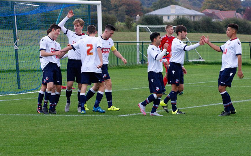 Bolton U18s 1-1 Cardiff City U18s