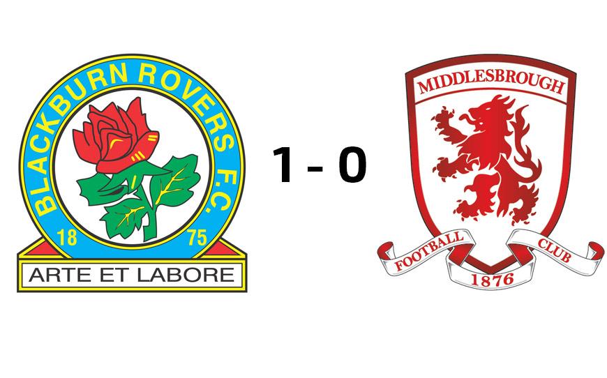 Blackburn Rovers U18s 1-0 Middlesbrough U18s