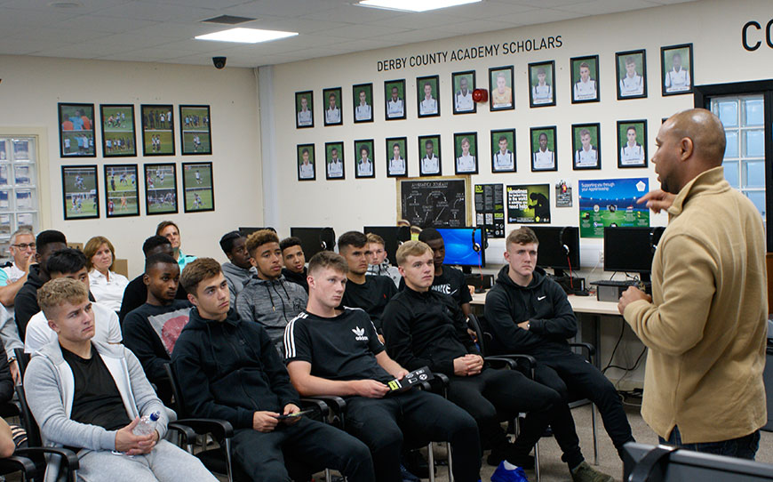 Derby Given Lesson On The Dangers Of Addiction