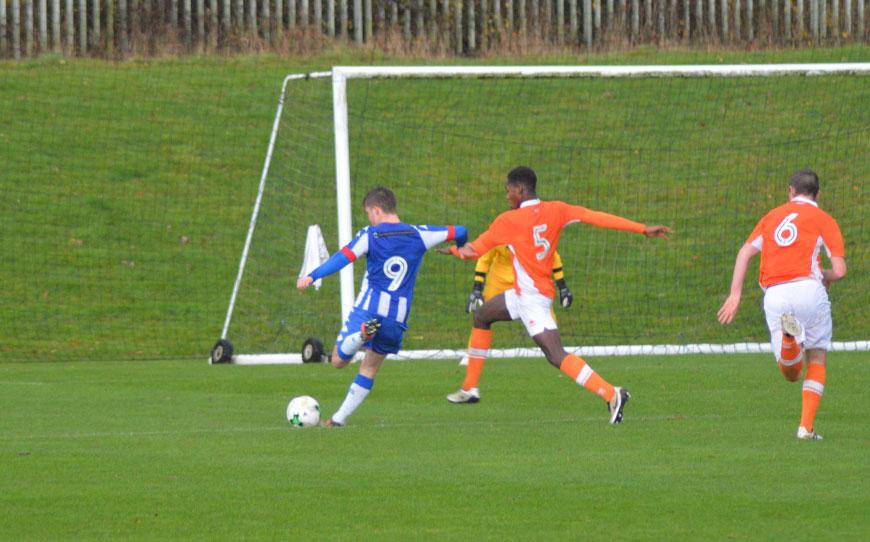 Blackpool U18s 2-2 Wigan Athletic