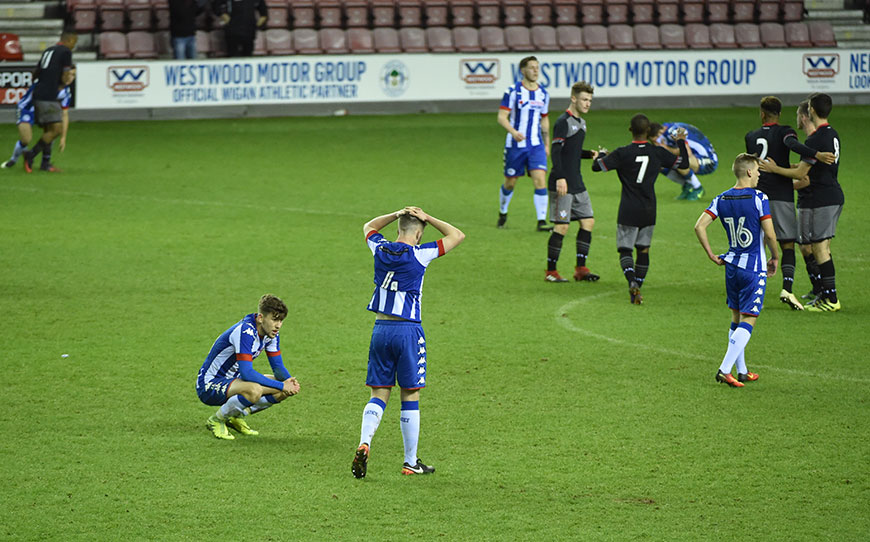 FA Youth Cup: Wigan Athletic U18s 1-2 Southampton U18s