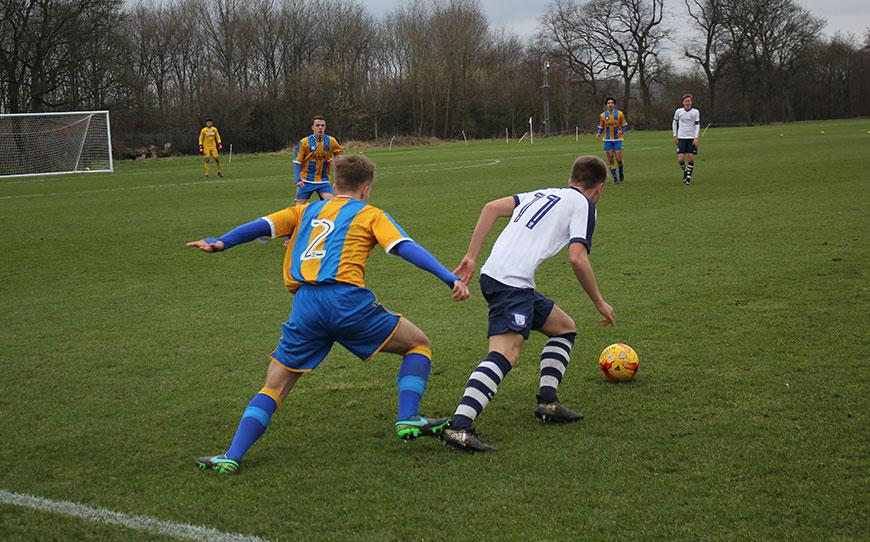 Preston North End U18s 2-2 Shrewsbury Town U18s