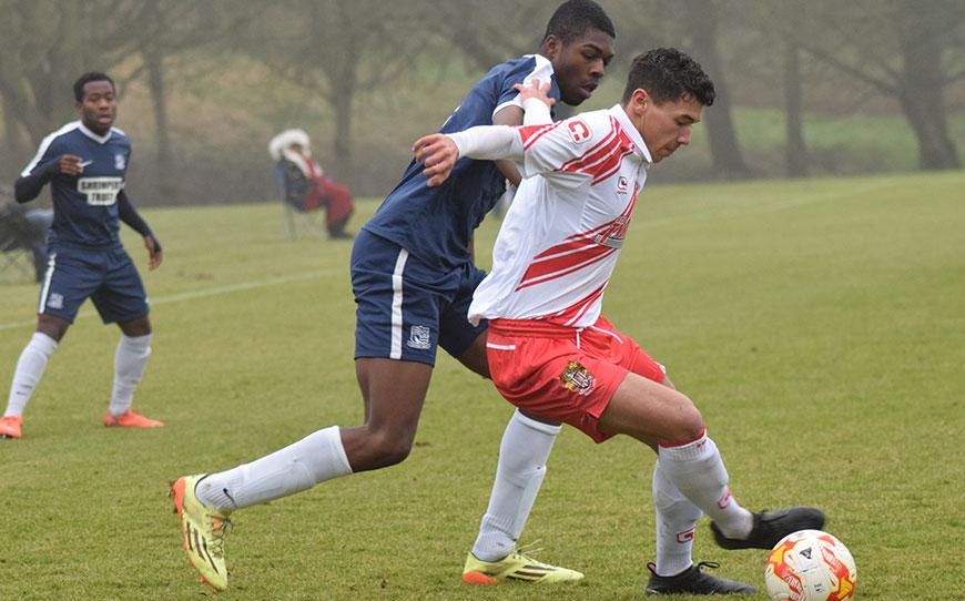 Stevenage U18s 3-2 Southend United U18s