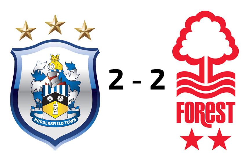 Huddersfield Town U18s 2 - 2 Nottingham Forest U18s