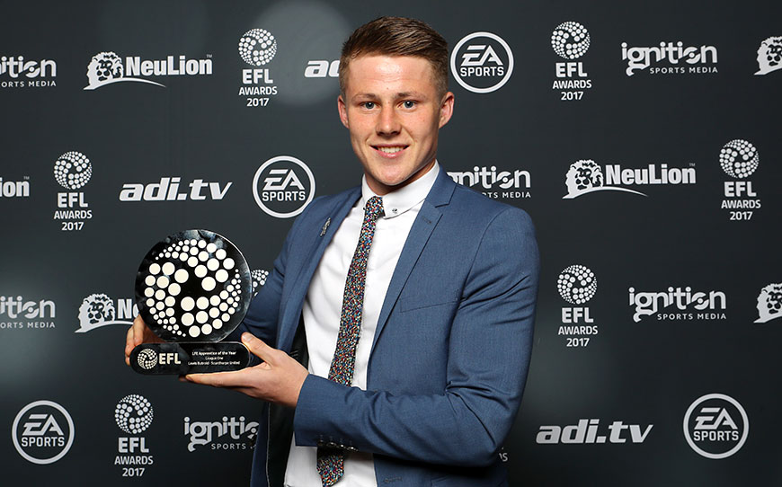 Lewis Butroid Named LFE League One Apprentice of the Year