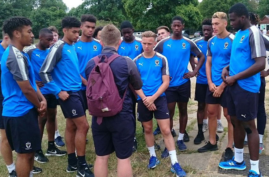 Pre-season Training Amps Up For Wimbledon Youngsters