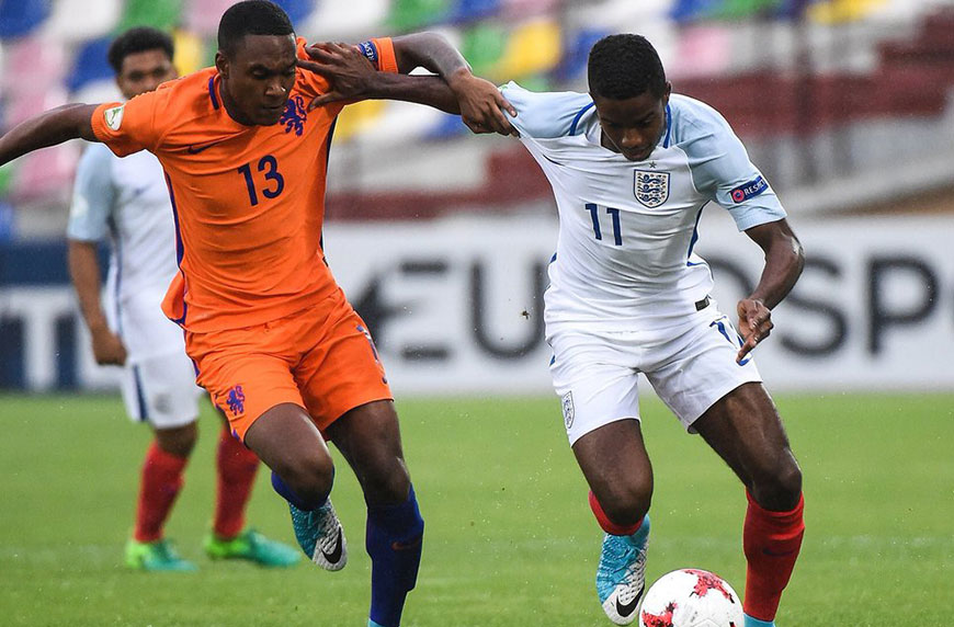 Brereton & Sessegnon Stand Out For England Under-19s