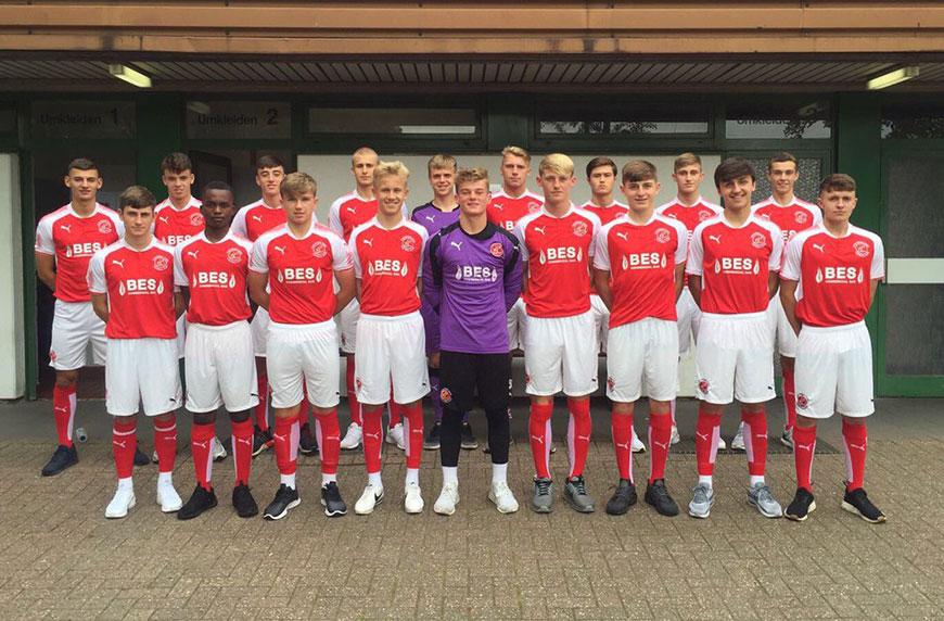 Fleetwood Town 1 - 0 MSV Duisburg