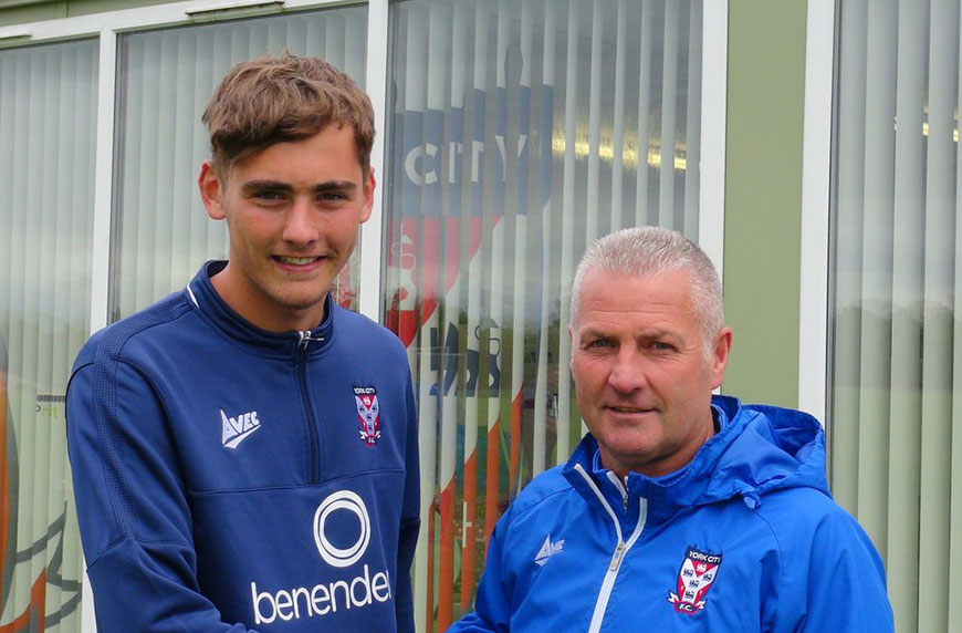 Whitley Pens First Professional Contract
