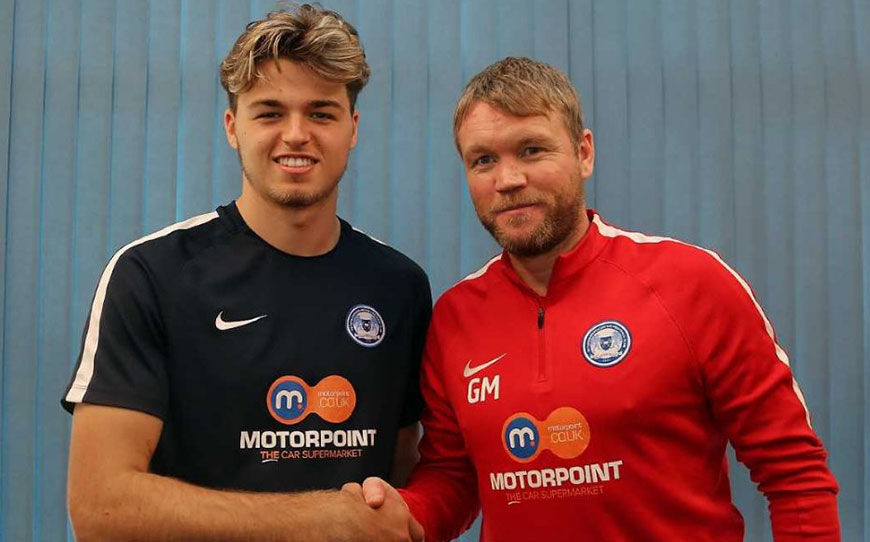 Cartwright Signs Pro Deal With Posh