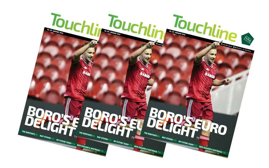 Touchline Issue 28 - Out Now