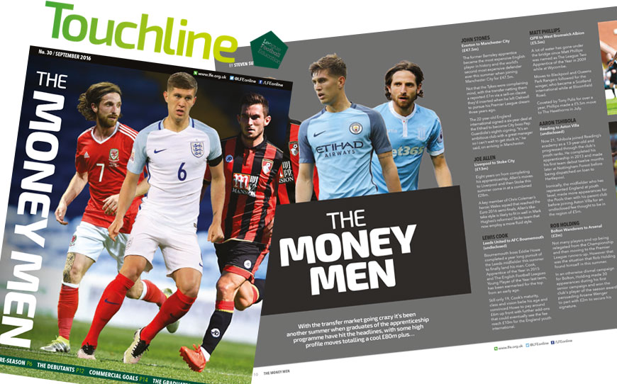 Touchline Issue 30 - Out Now