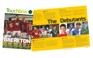 Touchline Issue 32 - Out Now