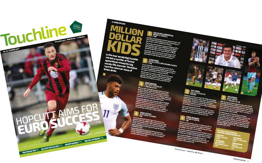Touchline Issue 33 - Out Now