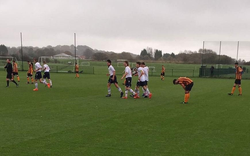 Bolton Wanderers U18s 2 - 4 Hull City U18s