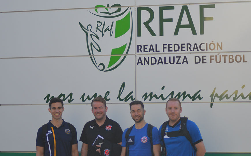 Quartet of EFL Coaches Begin Trip To Spain