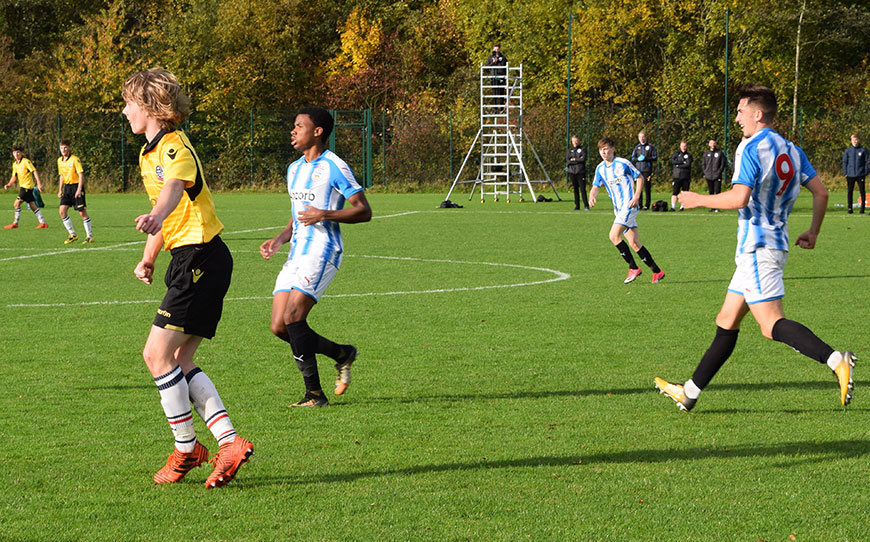 Huddersfield Town U18s 4 - 5 Bolton Wanderers U18s