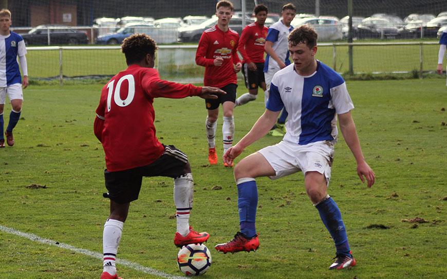 Blackburn Rovers Under-18s 1 - 4 Manchester United Under-18s
