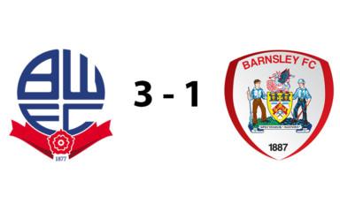 Bolton Wanderers U18s 3 - 1 Barnsley U18s