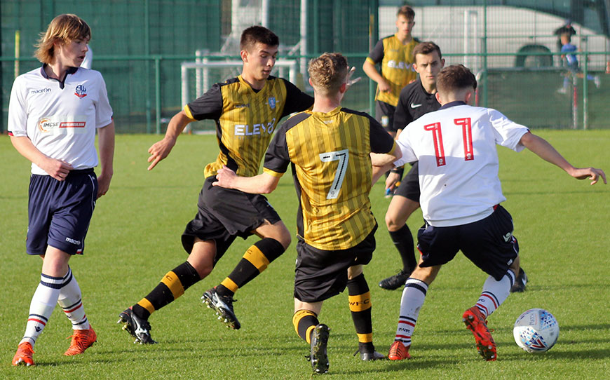 Bolton Wanderers Under-18s 0 - 0 Sheffield Wednesday Under-18s