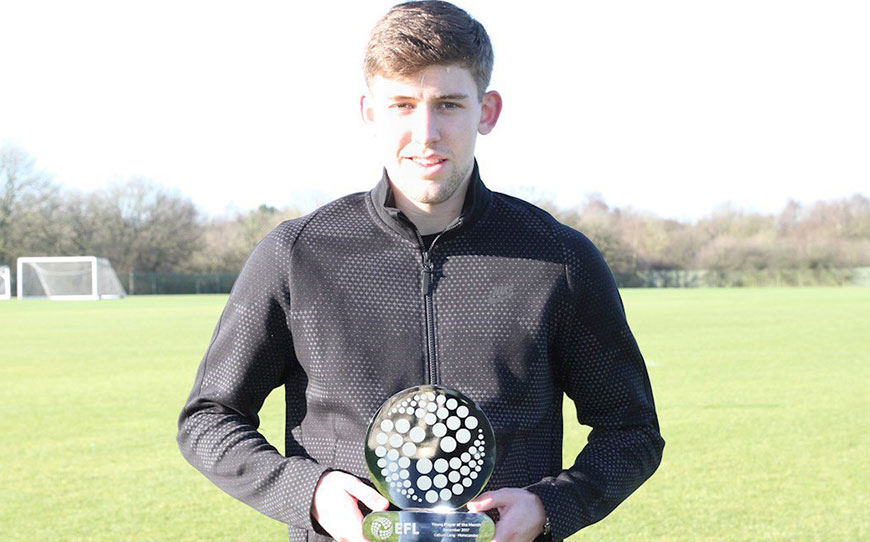 Callum Lang Claims EFL Young Player of the Month For December