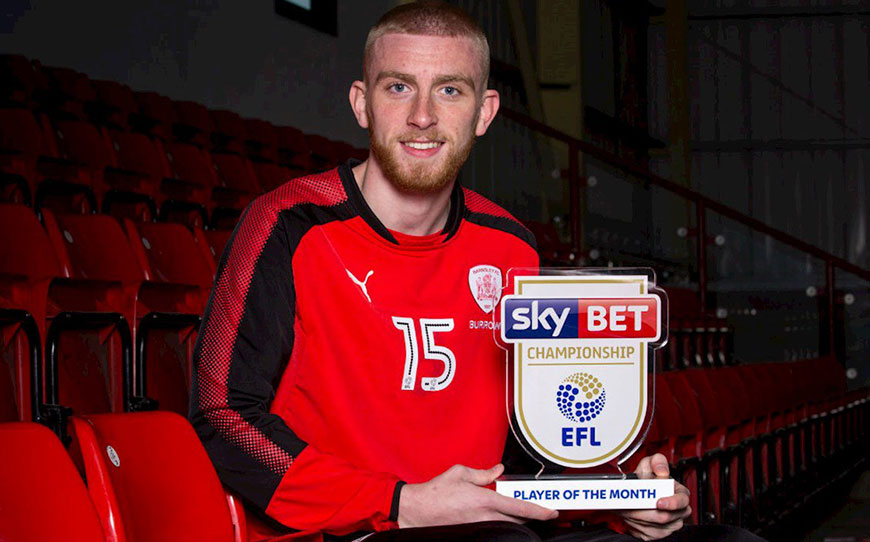 McBurnie Wins Sky Bet Championship Player of the Month Prize
