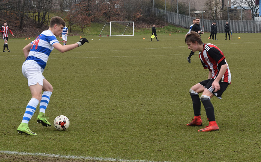 Sheffield United U18s 3 - 3 QPR U18s