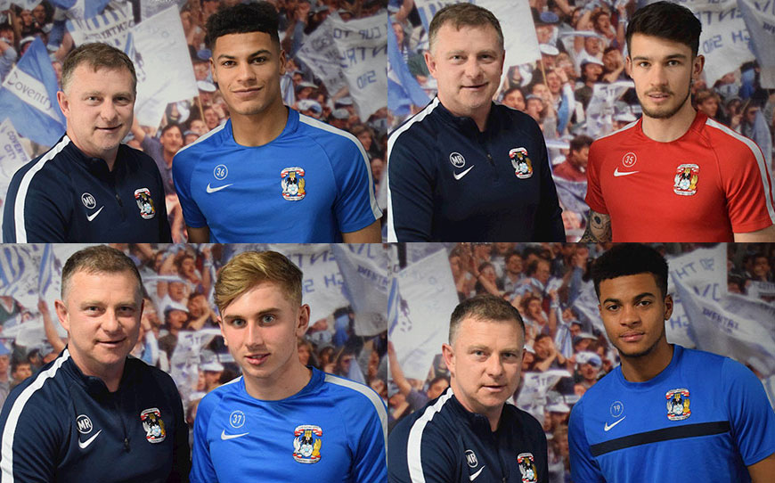 Four Academy Graduates Extend Stay With Sky Blues