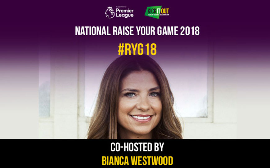 Bianca Westwood to Co-Host Kick It Out's National Raise Your Game Conference