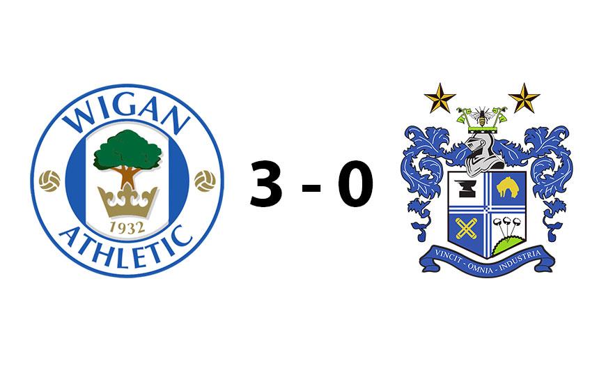 Wigan Athletic U18s 3 - 0 Bury U18s