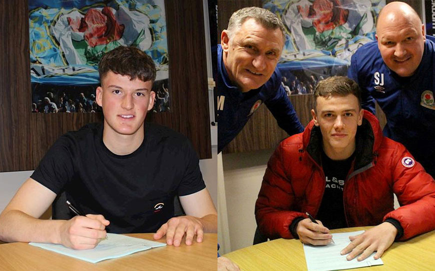 Pair Of Rovers Apprentices Turn Pro
