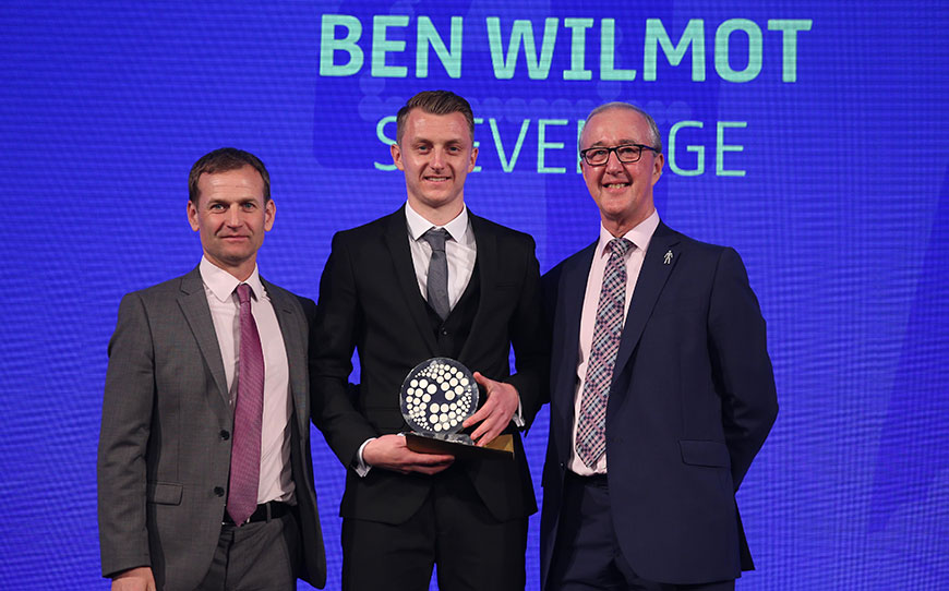 Ben Wilmot Crowned LFE League Two Apprentice of the Year