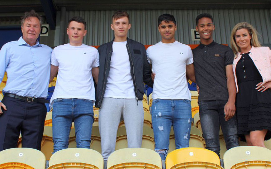 Stags Sign Academy Products To Pro Contracts