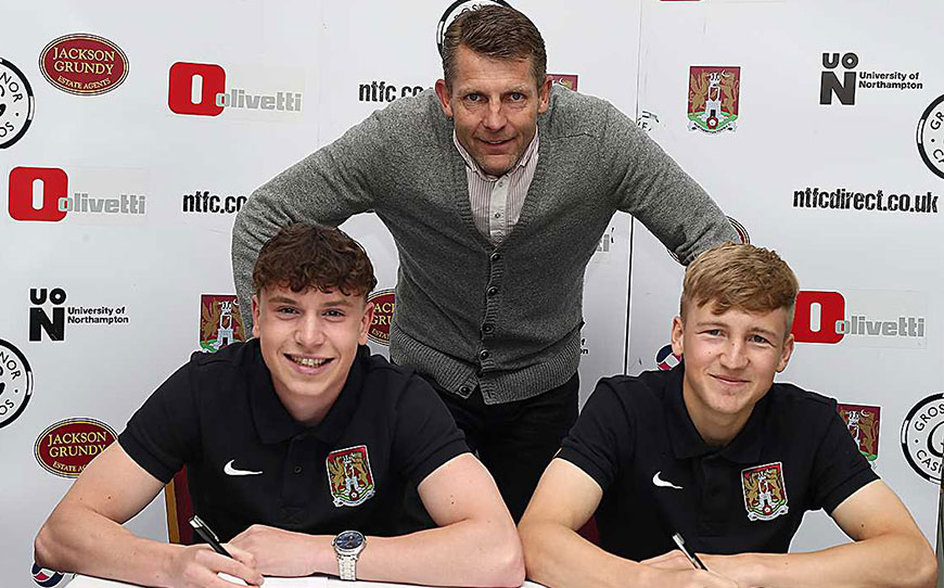 Cobblers Duo Agree Pro Terms