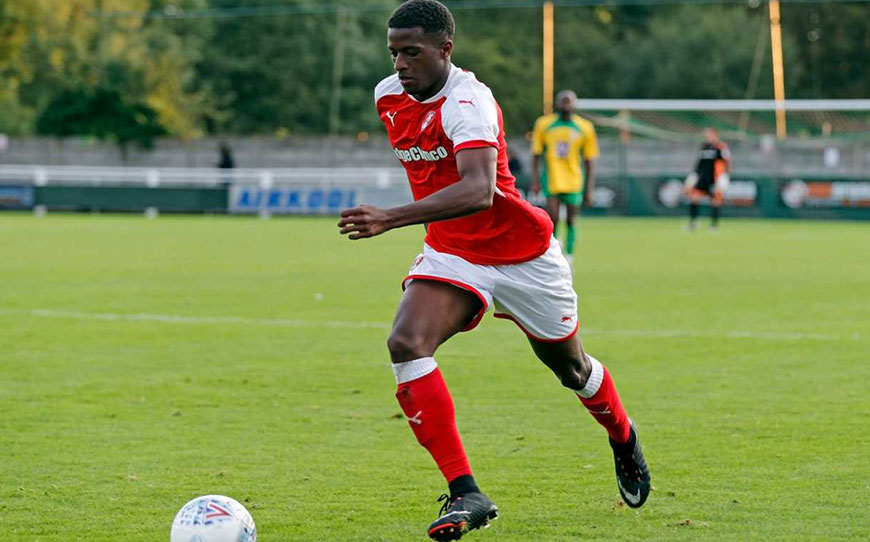 Rotherham Youngster Hinds Pens Pro Contract
