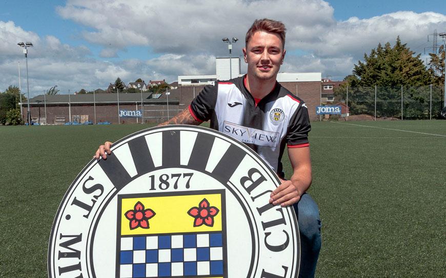 Heaton Returns To Pro Football With St Mirren