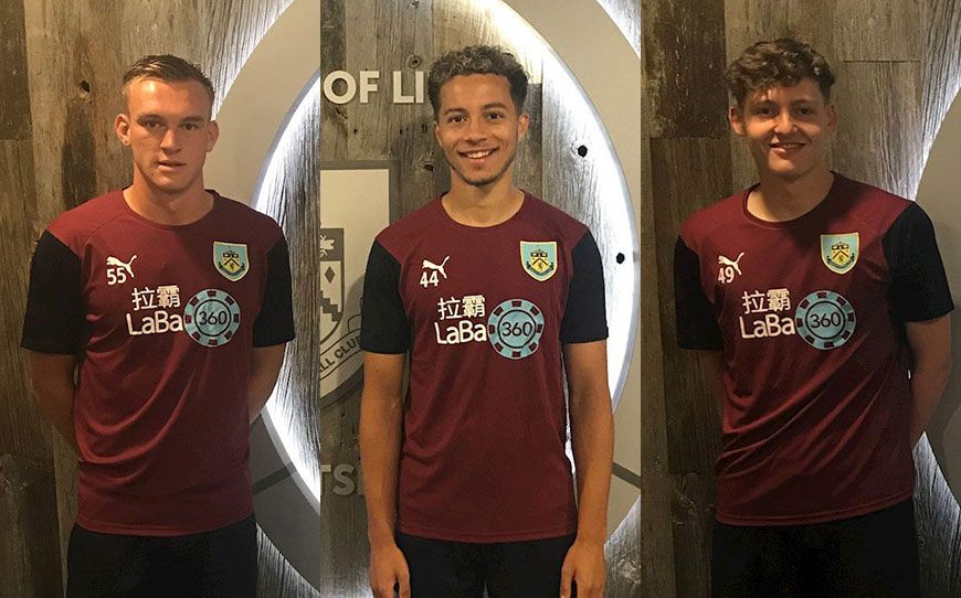 Three Ex-Apprentices Sign Pro Contracts With Clarets