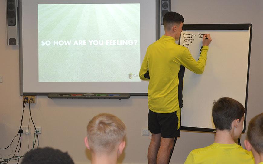 Blackburn Rovers Academy Organise Mental Health Awareness Week