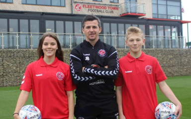Fleetwood Town Community Trust Launch New College