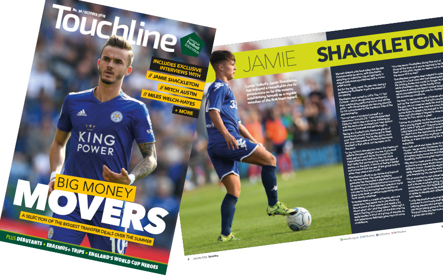 Touchline Issue 36 - Out Now