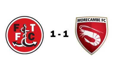 Fleetwood Town U18s 1 - 1 Morecambe U18s