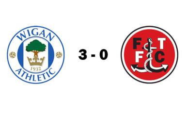 Wigan Athletic U18s 3 - 0 Fleetwood Town U18s