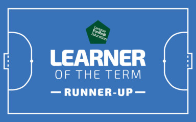 LFE Learner of the Term Runners-up: September - December 2018