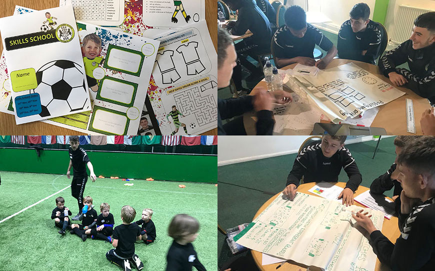 Forest Green Apprentices Create Coaching Sessions For Local Children