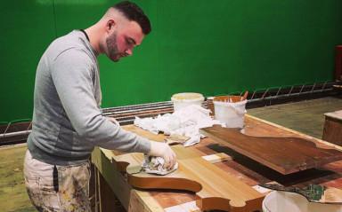 Ex-Hatter Gooch Enjoying New Career Painting Movie Sets