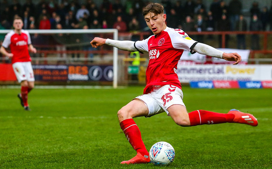 Rydel Extends Pro Contract At Fleetwood