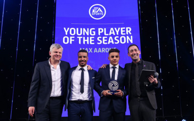 Aarons Claims Young Player of the Season Prize