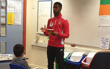 Ellington Becomes National Literacy Trust Youth Ambassador