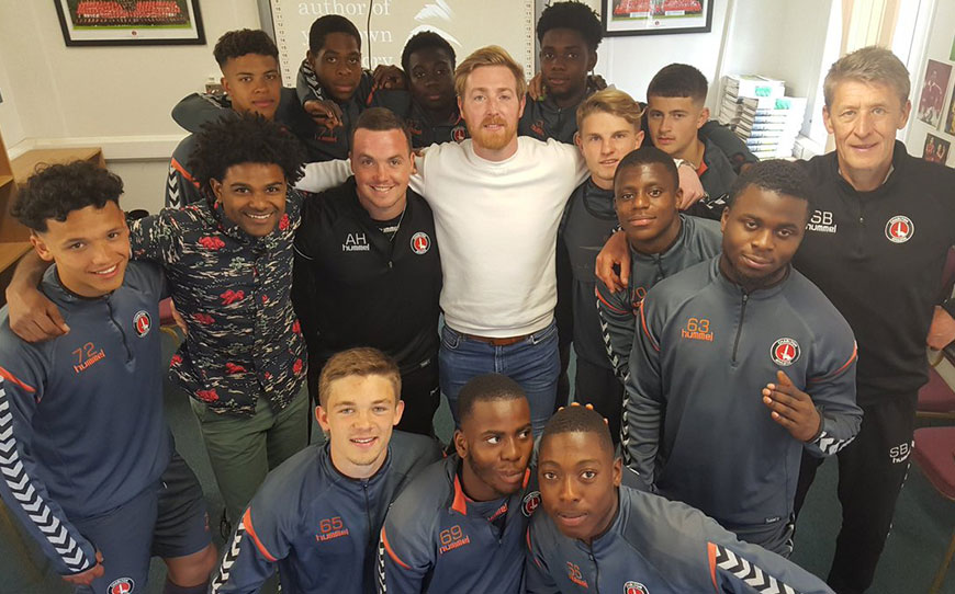 Addicks Youngsters Benefit From Pioneering Player Care Programme