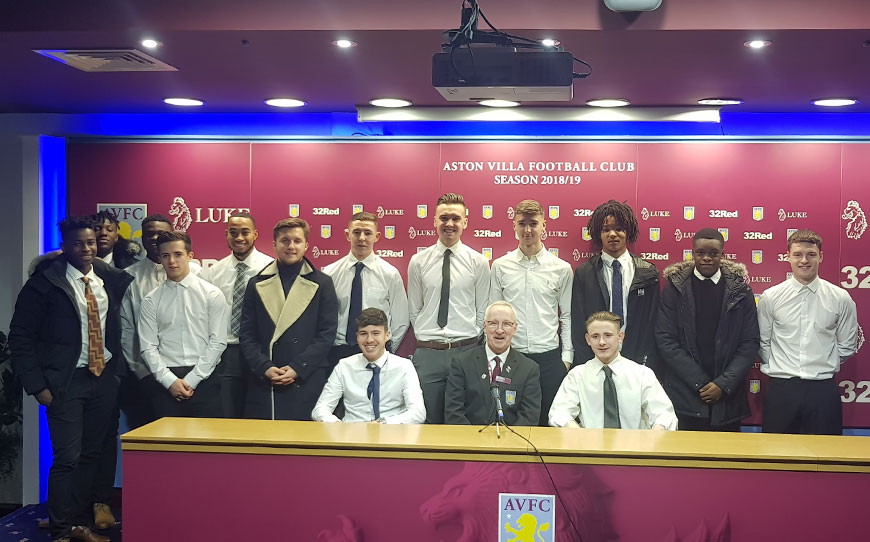 Villa Apprentices Plan For The Future With Careers Week Initiative